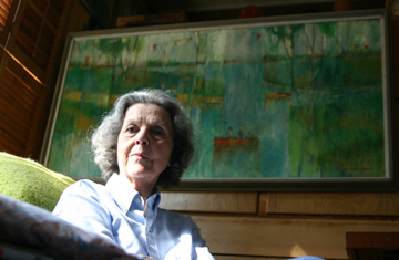 OLIVE PEMBERTON IN 2006 (photo by jeff prince)